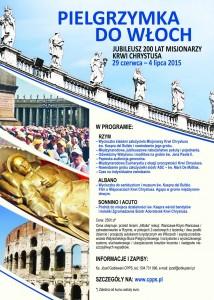 Jubileuszowa pielgrzymka do Rzymu i miejsc związanych z Misjonarzami @ Pielgrzymka z Warszawy do Rzymu